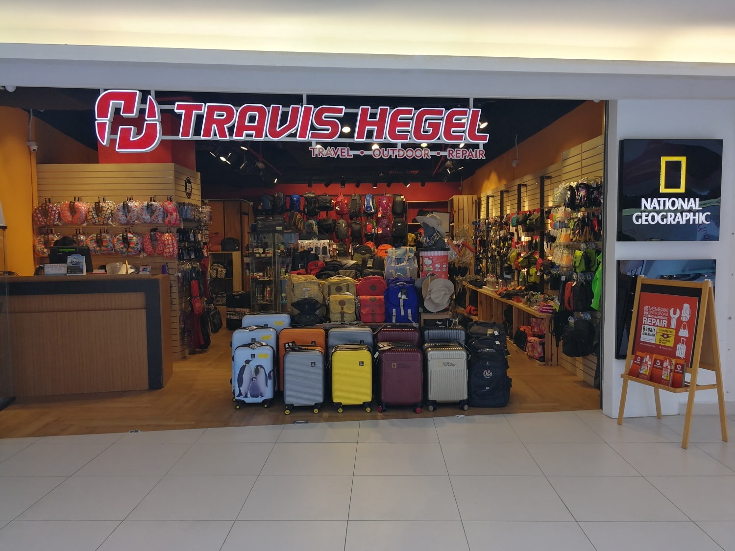 Travis Hegel Penang International Airport