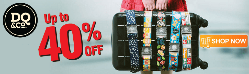 30% Off DQ & Co travel accessories