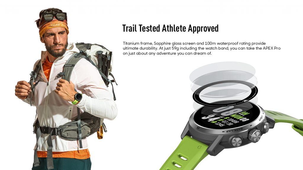 Trail Tested Athlete Approved