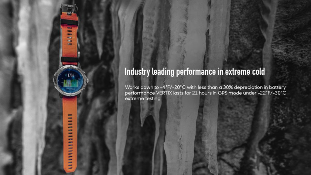 Industry leading performance in extreme cold
