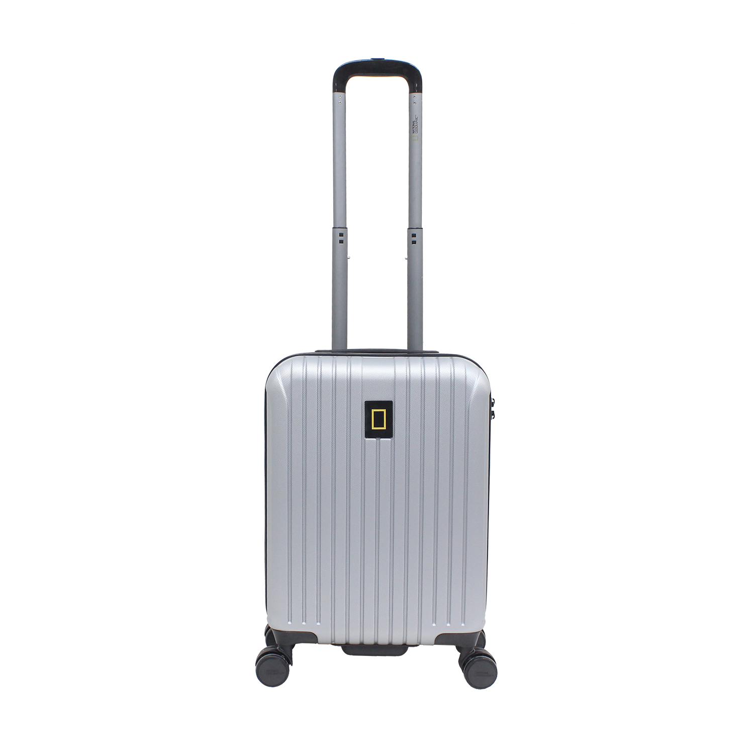 National Geographic Track ABS Luggage (Silver)