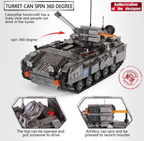 XingBao XB06018 Across The Battlefield Armored Vehicle -11.jpg
