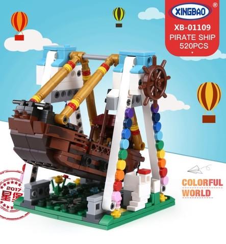 XingBao XB01109 Colorful World Pirate Ship -12.jpg