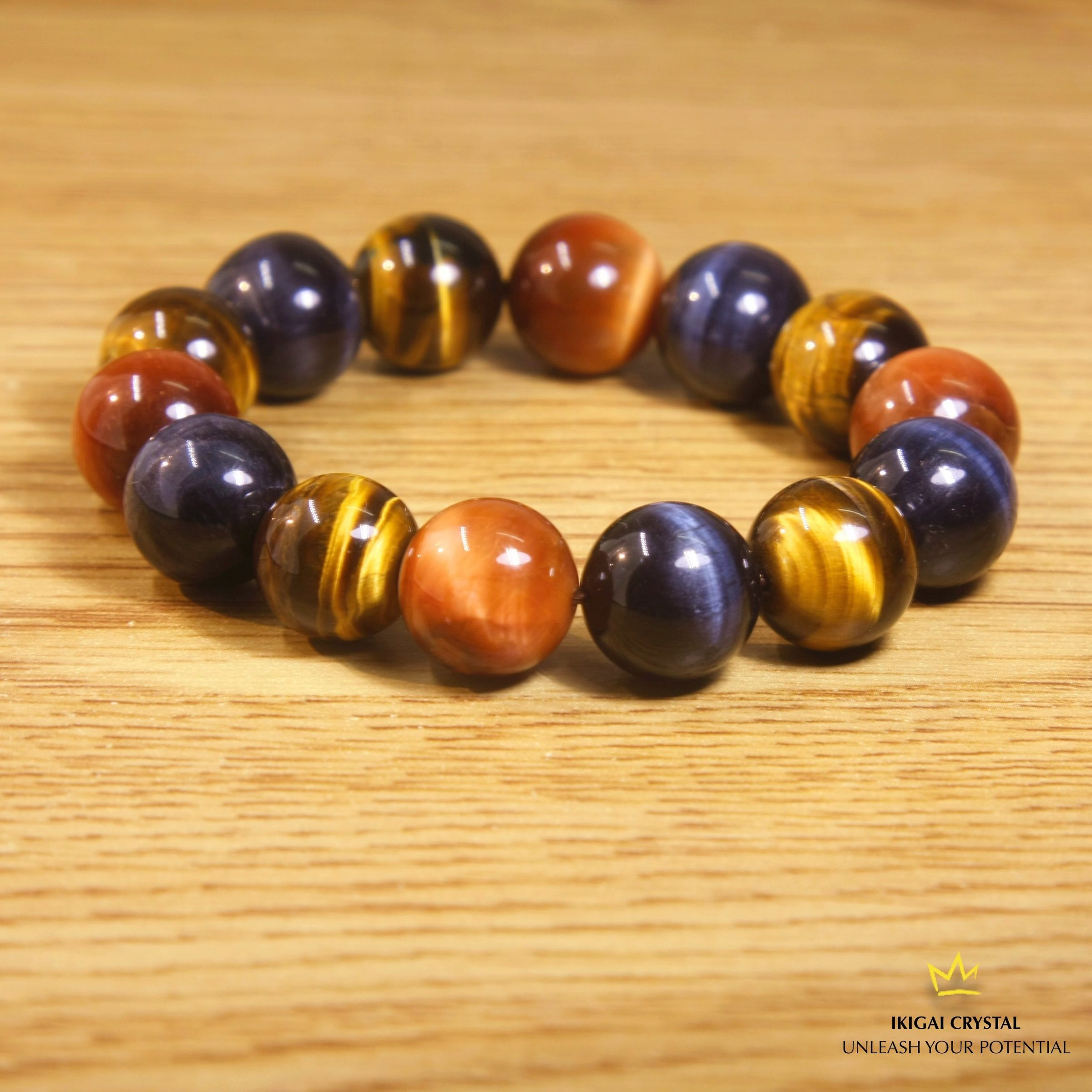 tigereye tiger back gods products eye beaded pharaoh the gemstone bracelet gold jewelry