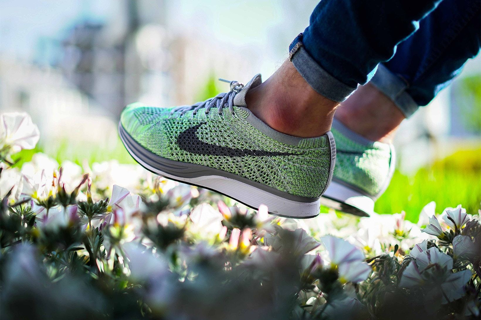 8eda9c111f241 ... Nike-Flyknit-Racer-Macaron-Pack-On-Foot-Shots- ...