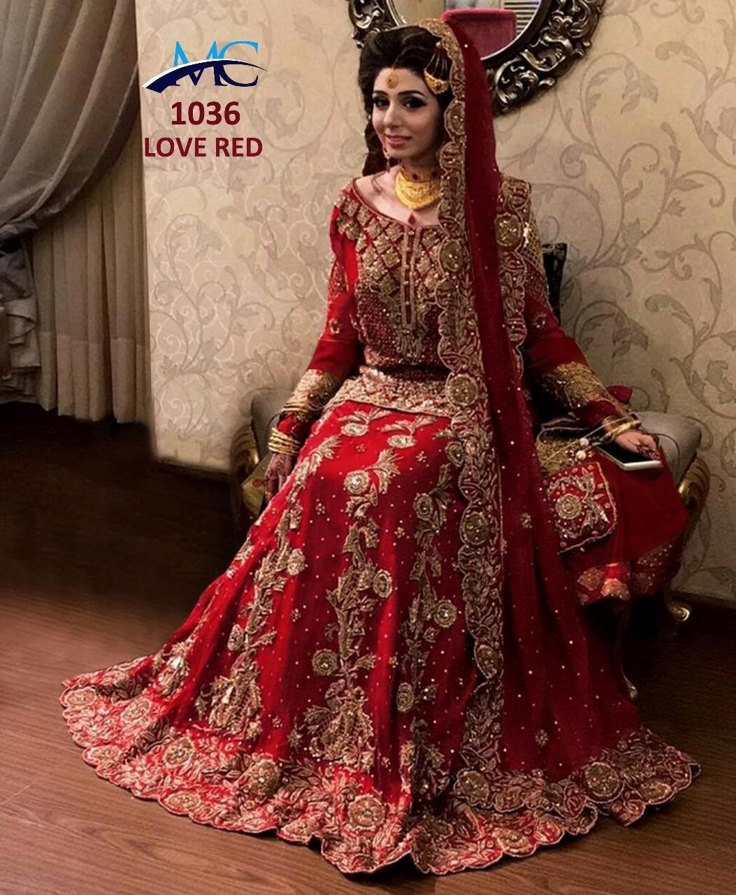 60eec700dd BRIDAL LENGHA MC1036 [PRE ORDER DELIVERY WITHIN 7-15 DAYS]