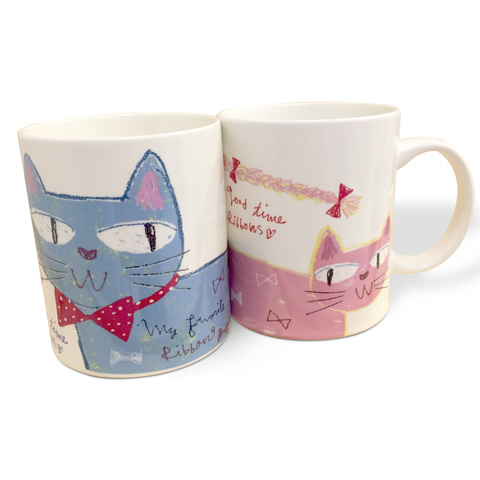 Ribbon Cat Mug Set .jpg