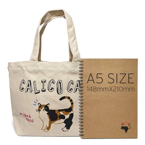 FH Calico Mini Tote Bag_Size.jpg
