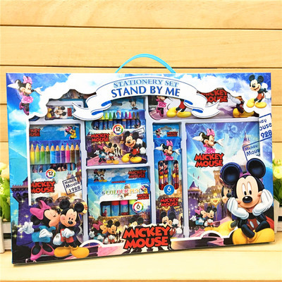 Coloring Stationery Set Mickey