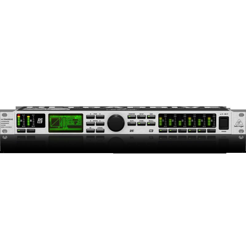 BEHRINGER ULTRADRIVE DCX-2496LE Loudspeaker Management System