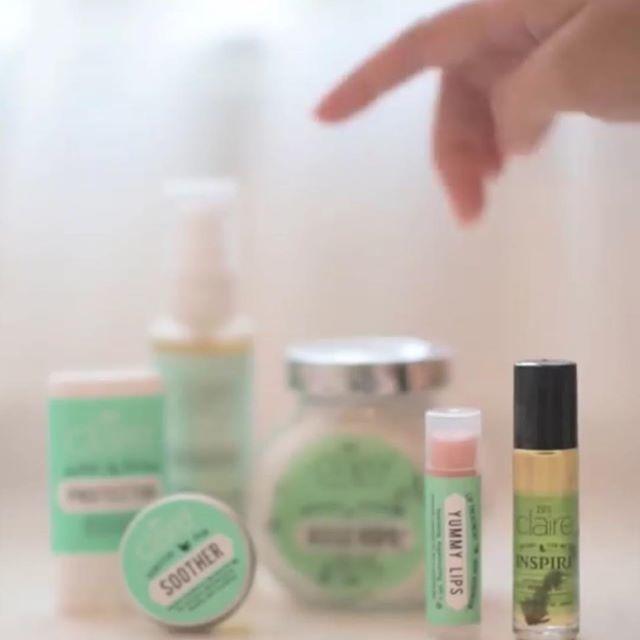 Claire Organics | All-Natural