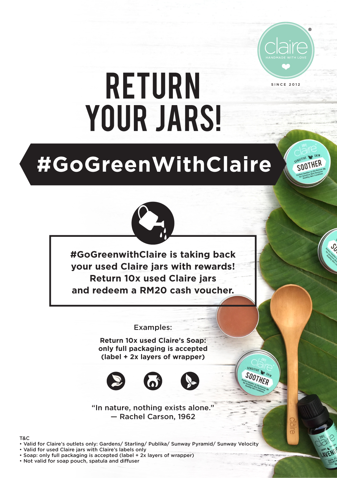 Go Green with Claire