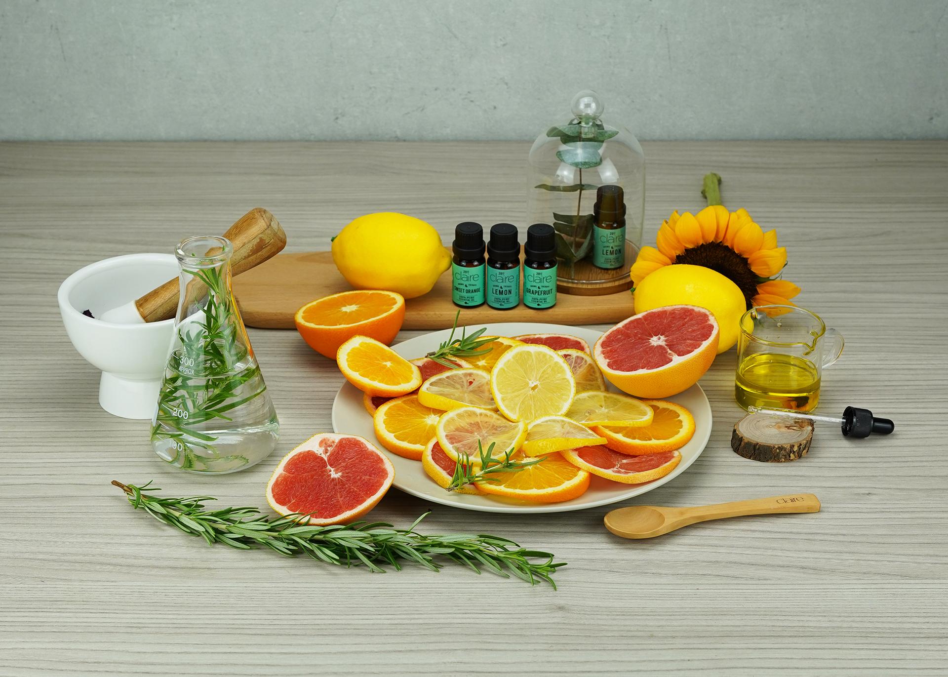 Claire Organics Aromatherapy 100% Pure Essential Oil