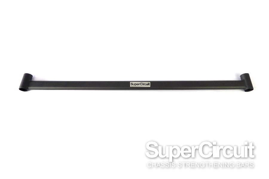 Proton Inspira Rear Lower Bar in MATTE BLACK industrial grade coating by SUPERCIRCUIT CHASSIS BARS