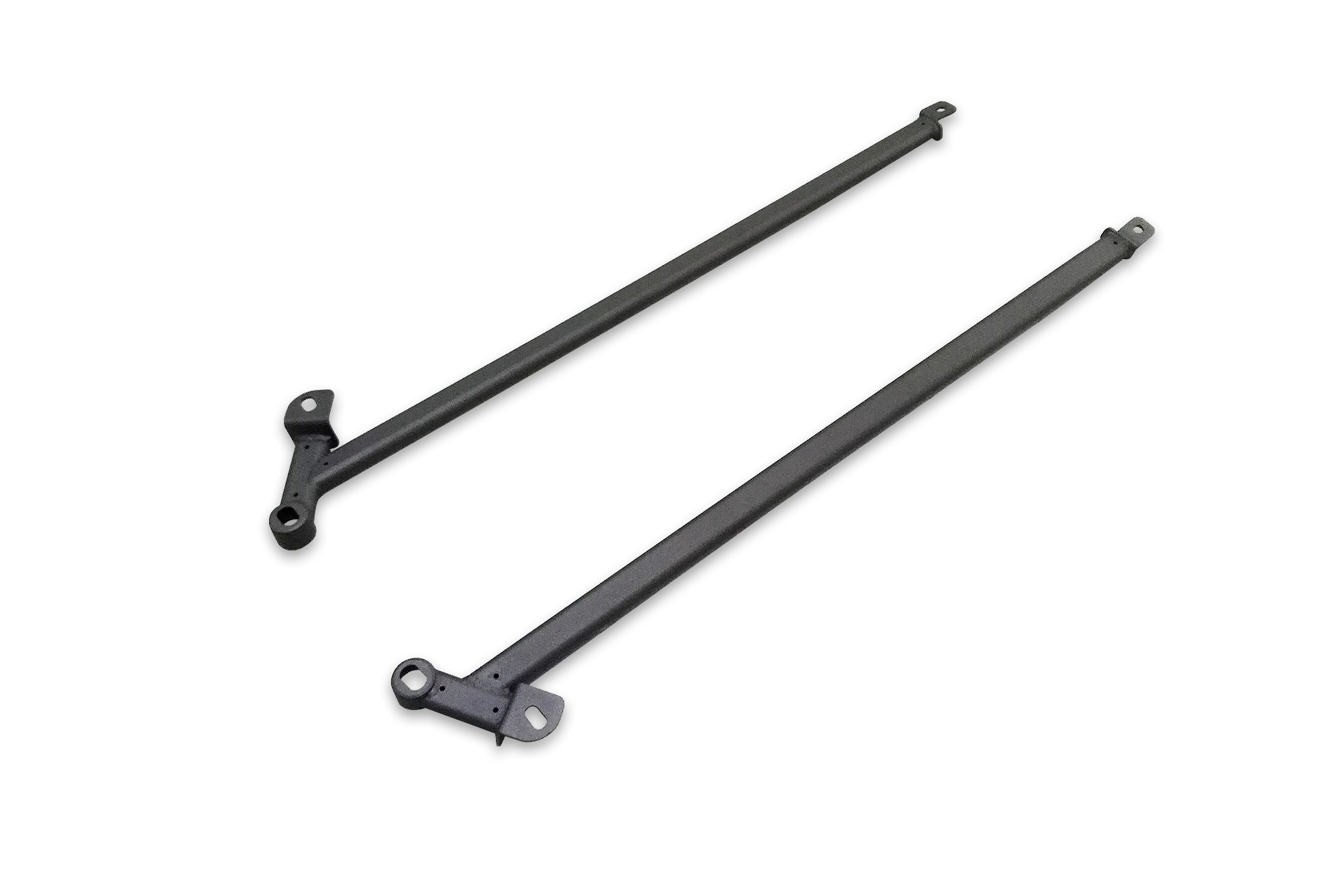 SUPERCIRCUIT Ford Mustang 2.3/5.0 Rear Lower Side Bars