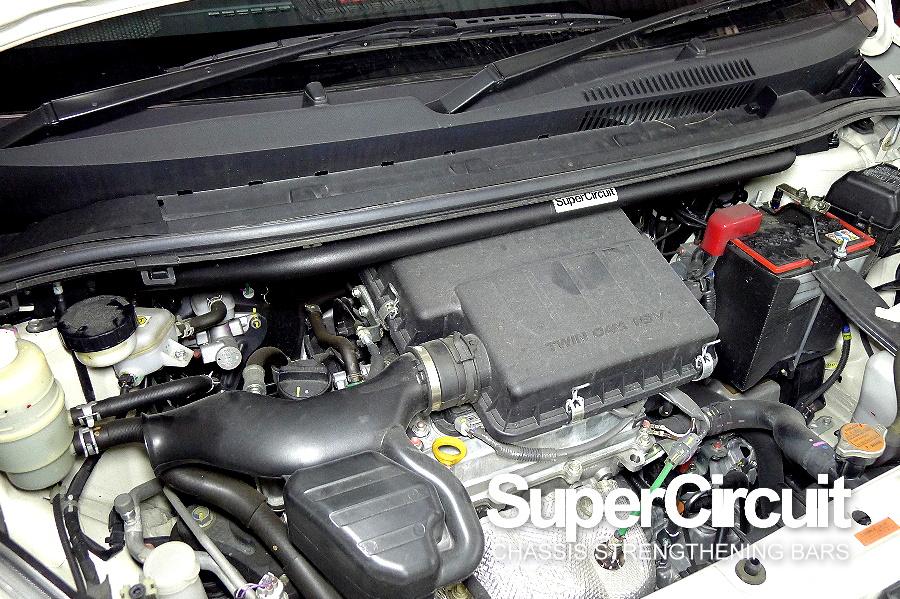 Perodua Alza Front Strut Bar, Perodua Alza Stabilizer Bar, Perodua Alza Engine Bar by SUPERCIRCUIT