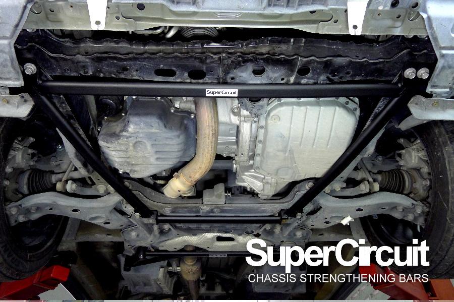 Toyota Alphard Vellfire 2.4 ANH20 Front Lower Brace, Front Lower Sub-frame Brace