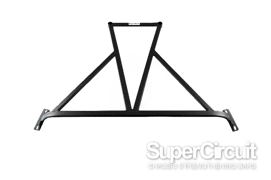Proton Satria Neo CAMPRO CPS Rear Lower Brace by SUPERCIRCUIT