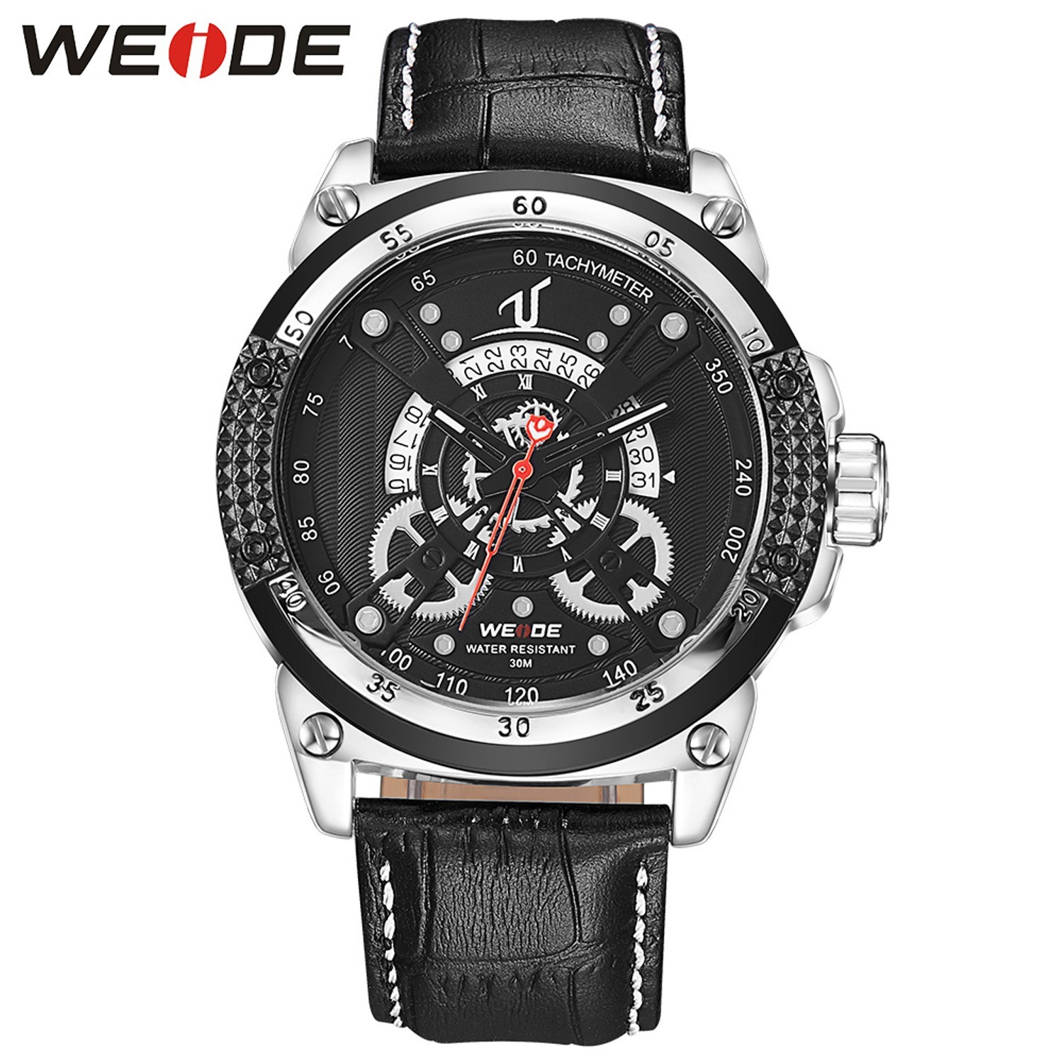 waterproof wrist stainless mesh quartz casual luxury watches multifunctions band business classic products watch minimalist black men steel chronograph milanese