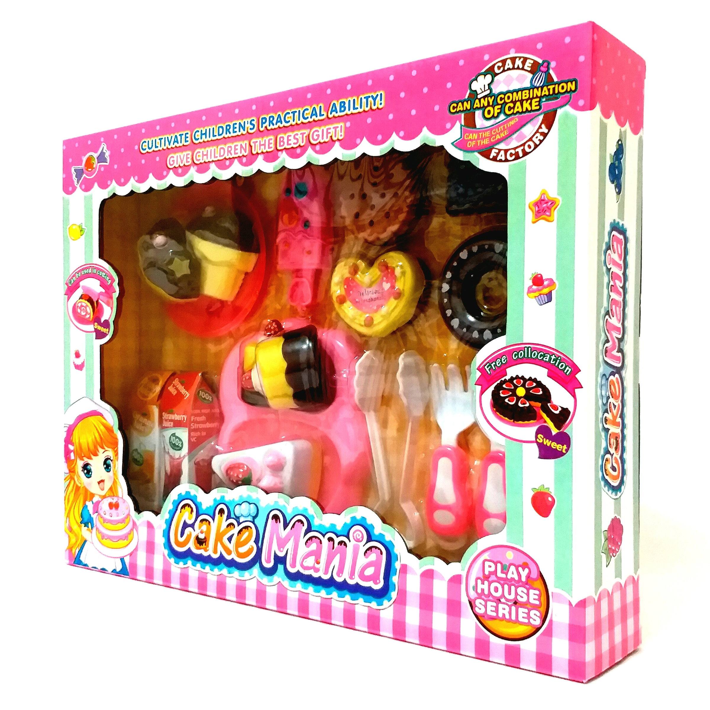 Kitchen Set Cake Mania Toys Shop Newcity