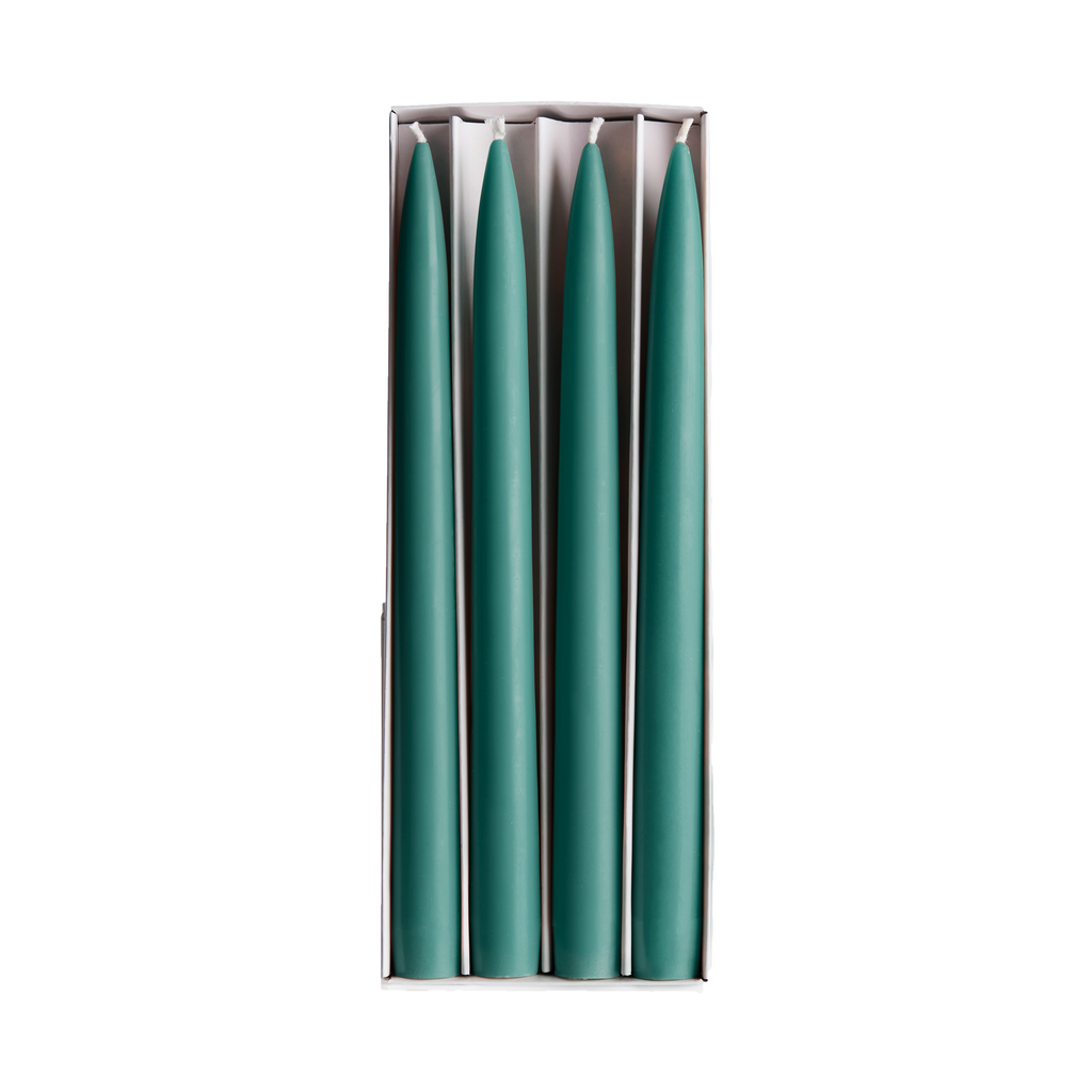 Maison Balzac Set of 4 Tapered Candles Teal Box.png