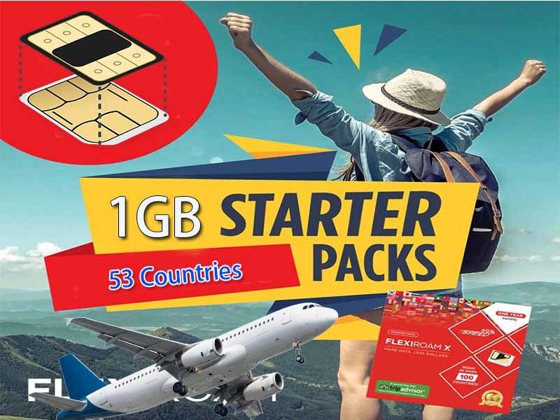 Mexico + Starter Pack (500MB-2GB)