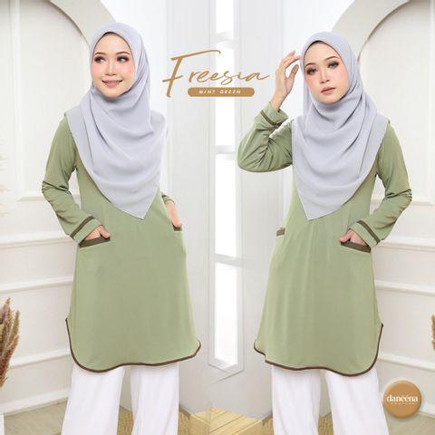 blouse tak payah gosok ironless labuh sopan long muslimah tunic (3).jpg