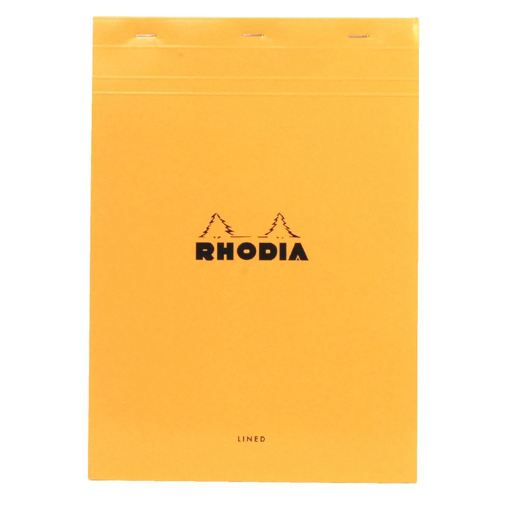 RH18600_rhodia_18_a4_lined_margin_notebook_orange