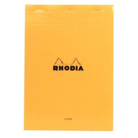 RH18600_rhodia_18_a4_lined_margin_notebook_orange