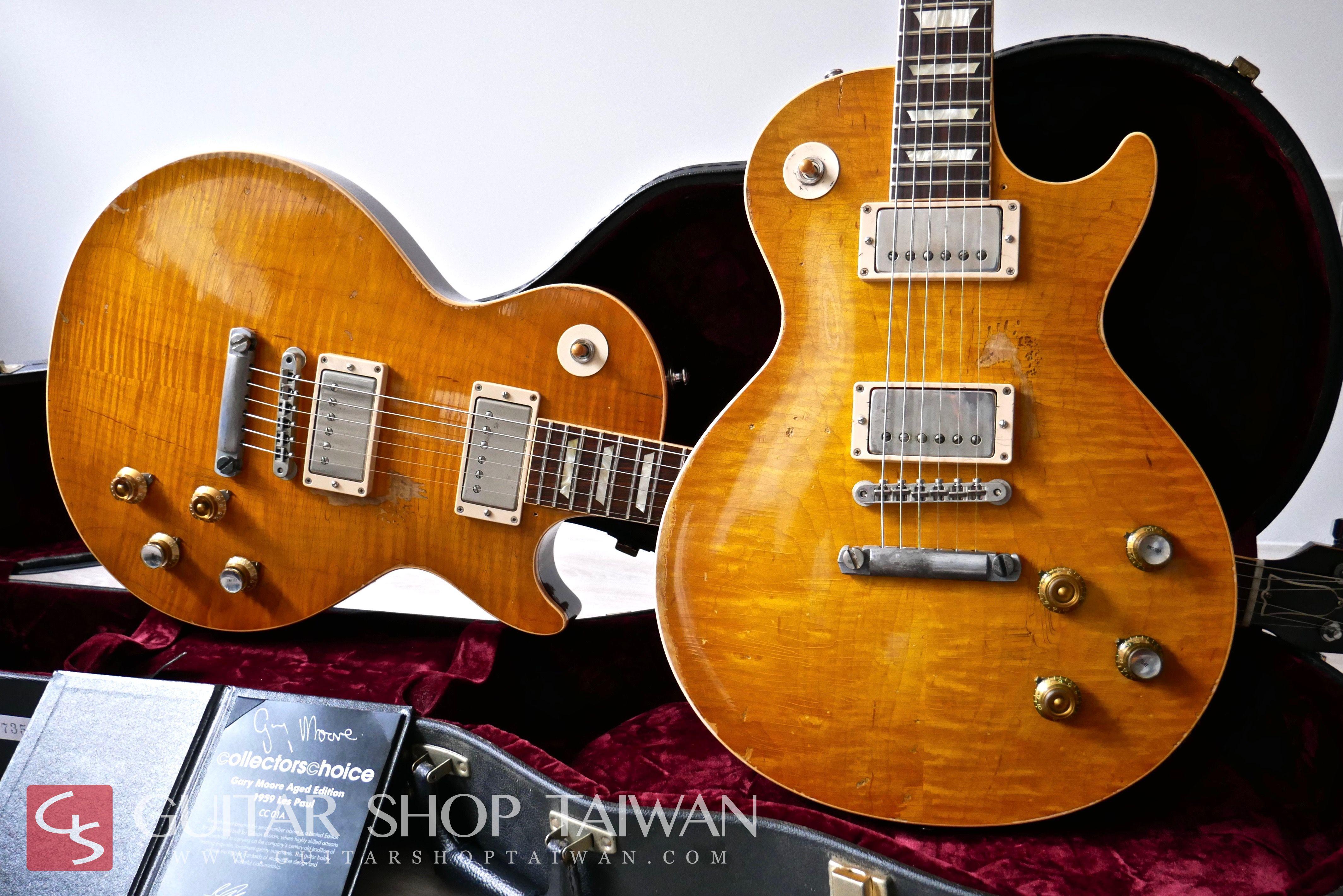 "Gibson Custom Shop Collector's Choice #1 ""Greeny"" Aged"