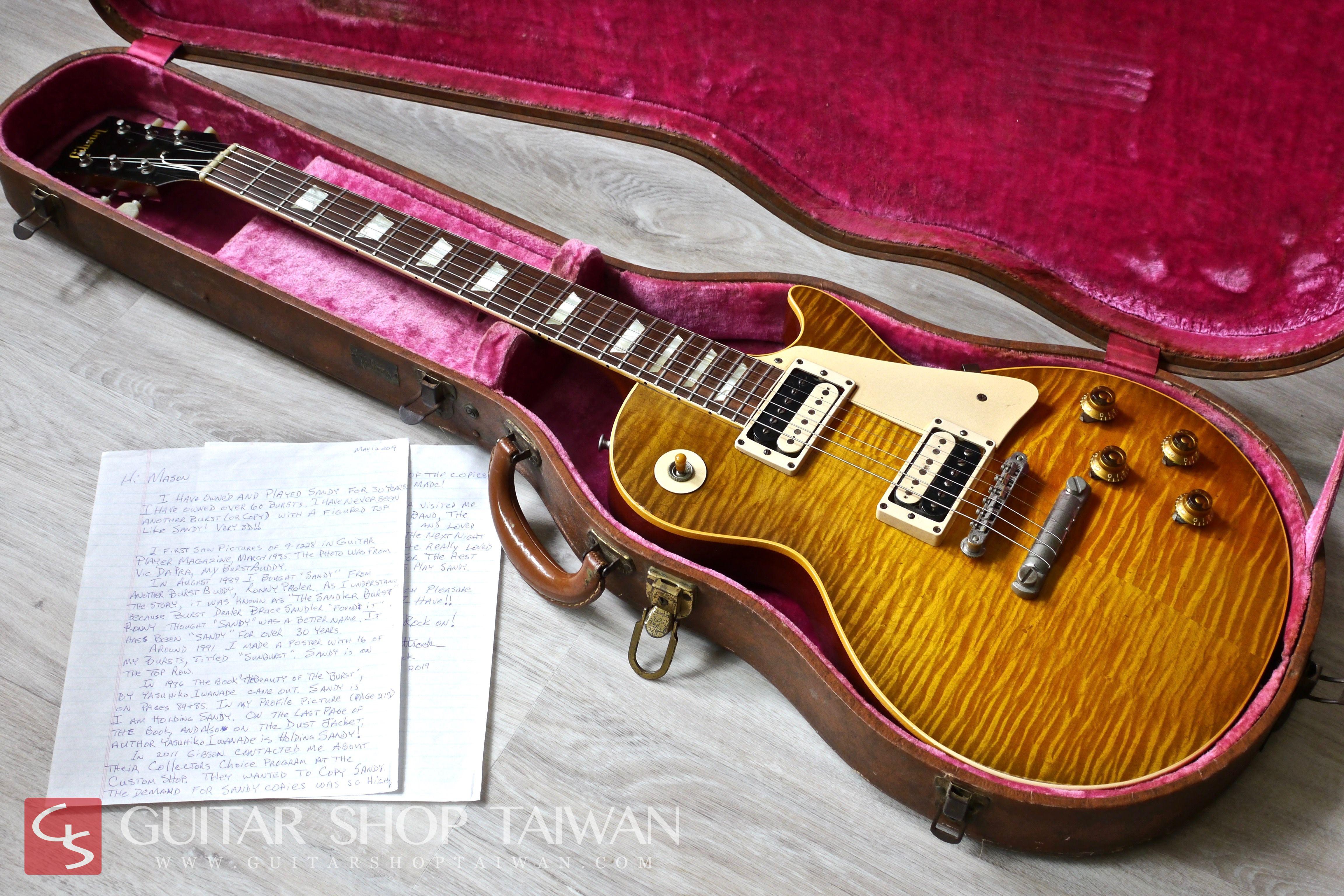 "1959 Gibson Les Paul Standard 9-1228 ""Sandy"""