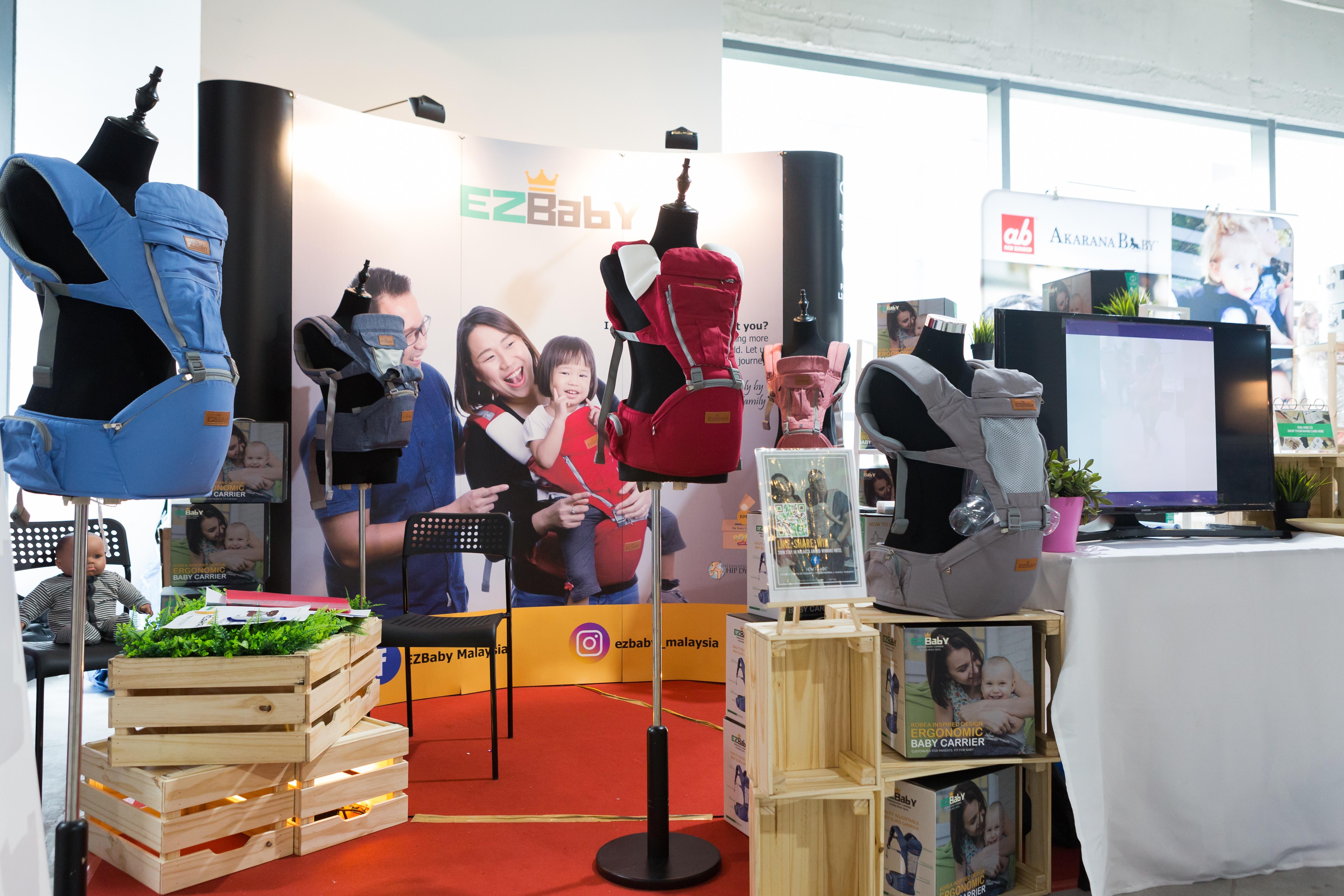 EZBABY Baby Carrier Malaysia Brand Ergonomic Baby Con