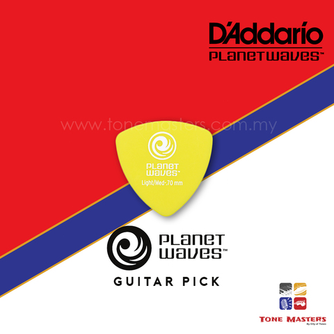 No 3 Planet Waves by D'Addario Guitar Pick Green.jpg