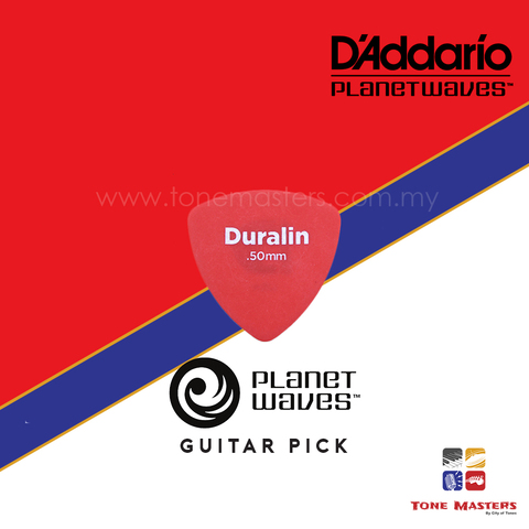 No 57 Planet Waves by D'Addario Guitar Pick Red.jpg