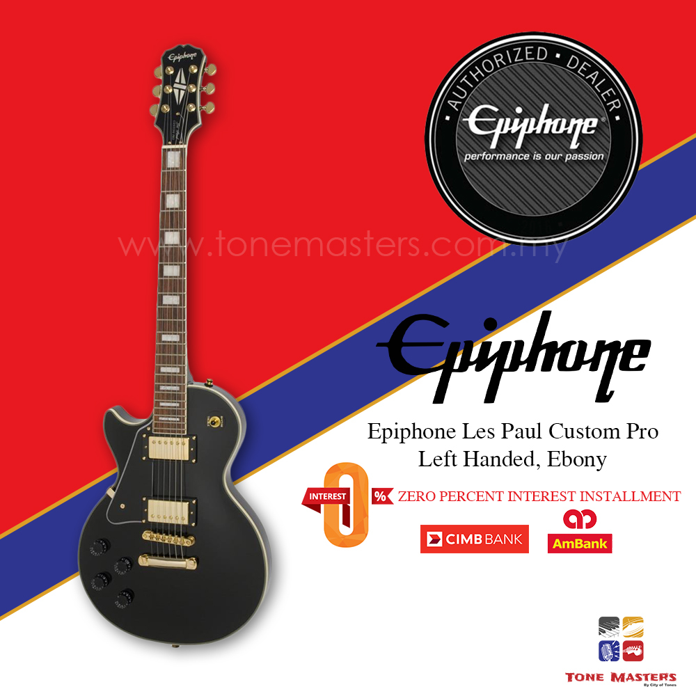 No 3 Epiphone Les Paul Custom Pro LH.jpg