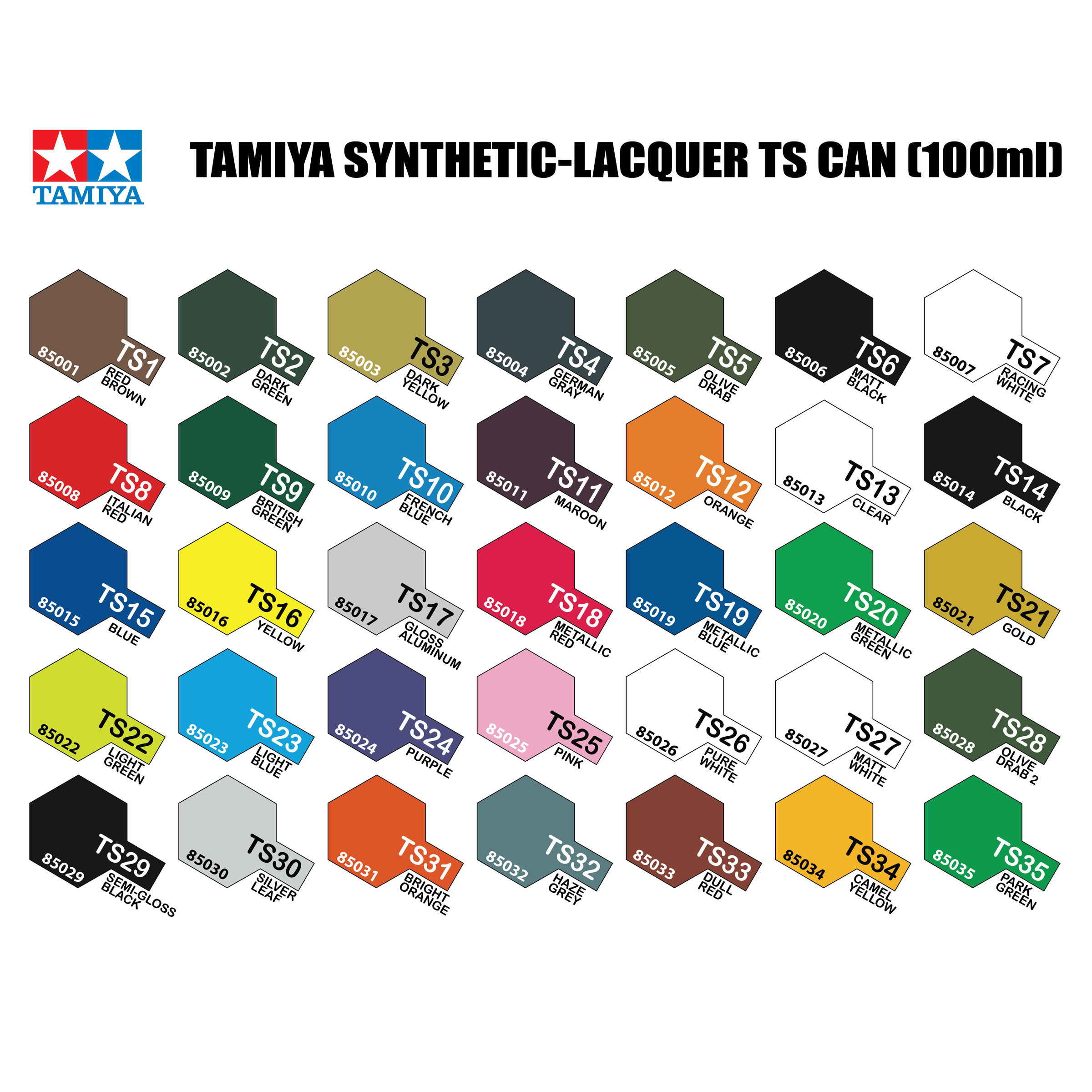 Tamiya ts spray can 100ml gundam toy shop gdme trading tamiya paint chart ts 06g geenschuldenfo Gallery
