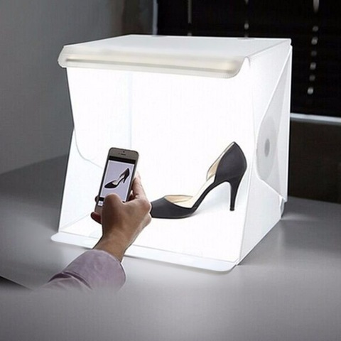 Deluxe Portable Photo Booth With LED Light - Easy Box Photography Product.jpg