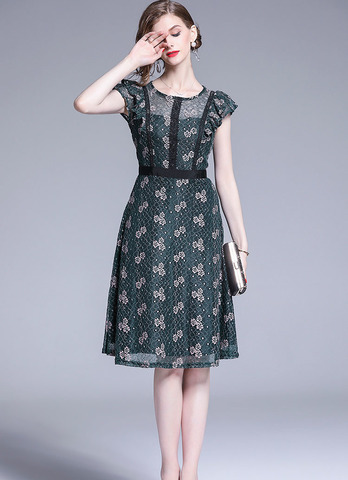 DARK GREEN LACE DRESS.jpg