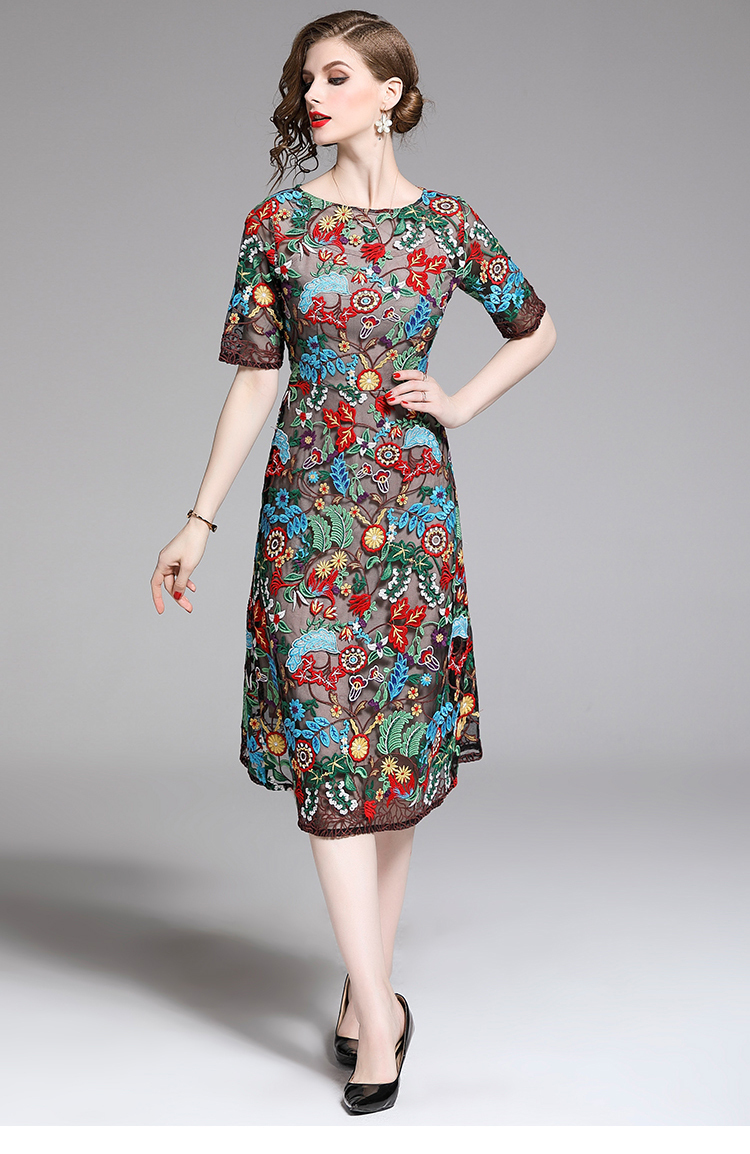 Elegant Flower Embroidery Slim Dress.jpg