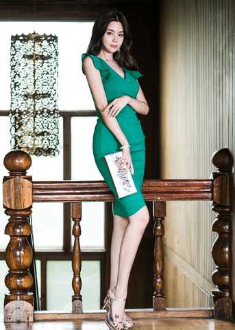 GREEN SLIM DRESS.jpg