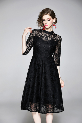BLACK A-LINE LACE DRESS.jpg