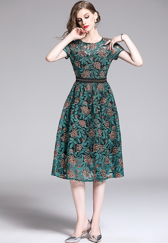 EMBROIDERED GREEN FLORAL DRESS.jpg