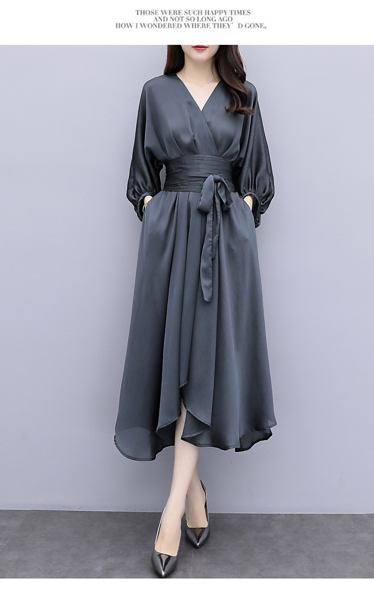 Fairy Irregular Gray Dress.jpg