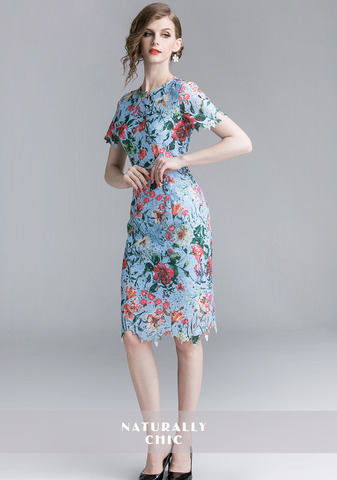 BLUE FLORAL LACE SLIM DRESS.jpg