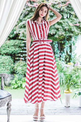 Red Stripe Maxi Dress.jpg