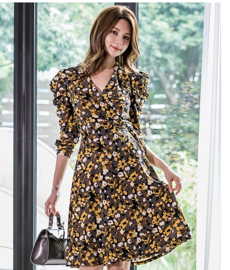 Yellow Retro Floral Dress.jpg
