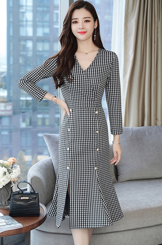 Slim Lattice OL Fishtail Dress.jpg