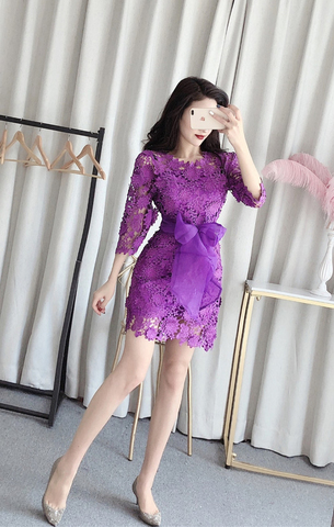 Three-dimensional Lace Flower Hollow Dress.jpg