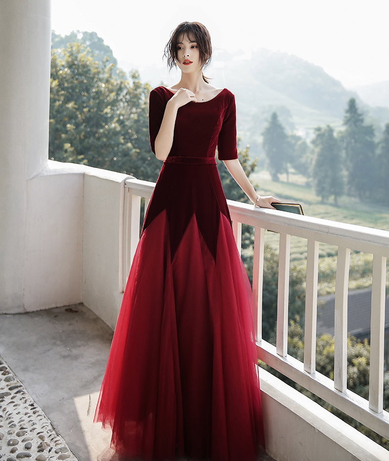 Fairy Red Maxi Lace Evening Dress.jpg