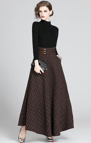 Black Woolen Top + Long Knit Skirt.jpg